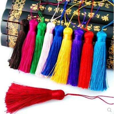 V14 (1,10 pcs) 8cm Long tassel Material  (use for earring bookmark runner dress)