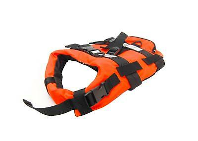TWF High Visibility Dog / Pet Floatation Life Jacket Buoyancy Aid