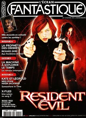 "L'ecran Fantastique Resident Evil - Le Cinema De L'imaginaire  - ""french"""