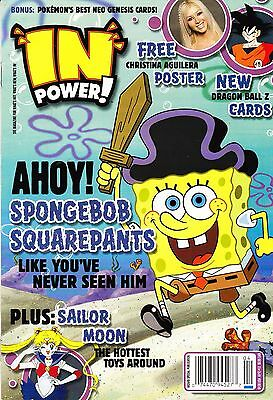 In Power! Magazine Apr #12 Ahoy! Spongebob Squarepants-Christina Aguilera Poster