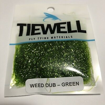 Green Weed Dub Fly Tying Material For Luderick Weed Flies