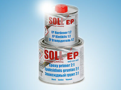 SOLL EP 2+1 highy protective epoxy primer with hardener 0.75l/25.35oz grey