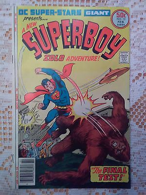 Giant Superboy #12 - Vintage Comic