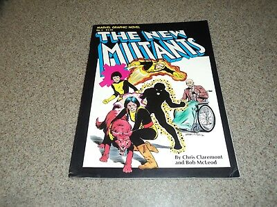 MARVEL GRAPHIC NOVEL #4 FIRST APPEARANCE OF THE NEW MUTANTS 1st PRINT