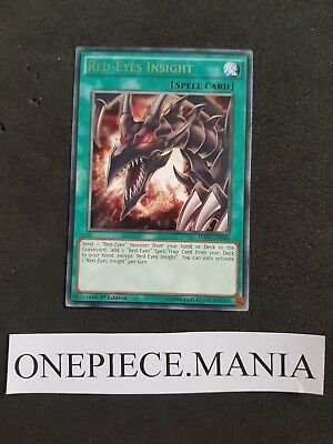 Yu-gi-oh! INOV-EN060 Red-Eyes Insight Rare 1st edition