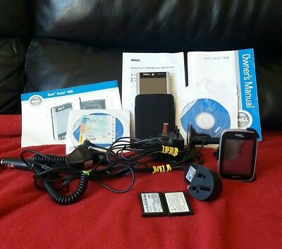 Dell axim x50  with case and accessories also discs and manual also pocket loox