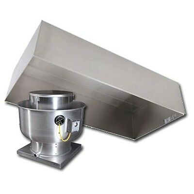 6' Type 2 Condensate Hood and Fan Package