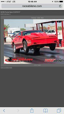 1989 Pontiac Transam Drag Car