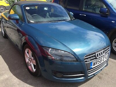 58 Audi Tt 2.0 Tdi Quattro Convertible **cabriolet Roof Not Working** Leather!!