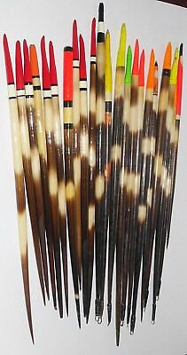 22 Porcupine Quill Fishing Floats