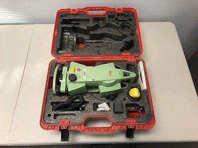 Leica Total Station TC407 - Kit with Case - NO RESERVE