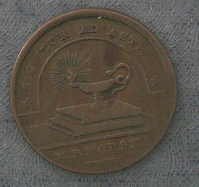 MP Morse Literary Depot Hard Times Token HTT - Pittsburgh PA