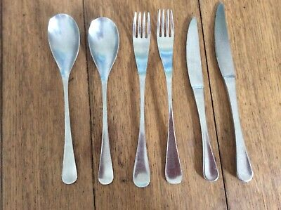 Vintage Cutlery Old Hall Alverston. Stainless Steel. (mixed lot)