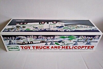 💚 NIB 2006  Hess Toy Truck and Helicopter Brand New In Box