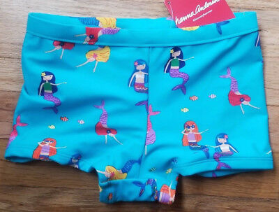 Nwt Hanna Andersson Boyshort Swim Bottoms Mermaids All Sizes! Sold Out, Htf!!