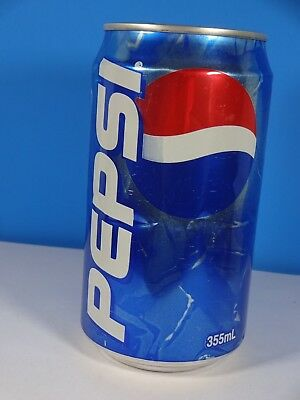 Pepsi Cola Aluminum Can Auckland New Zealand 355mL