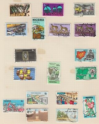 Stamps - Nigeria - 1970's and 1980's