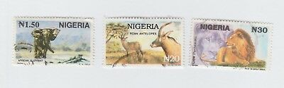 Stamps - Nigeria - Animal stamps
