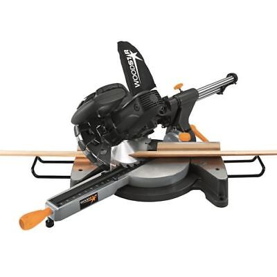 WOODSTER Scie a onglet radiale 1500 W 210 mm - Largeur de coupe : 340 mm - SL8LX
