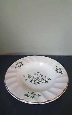Vintage Carrigdhoun Pottery Ltd Cork Ireland Shamrock Leaf Ashtray
