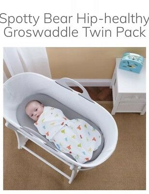 The Gro Company - Gro Swaddle - Set Of 2 Baby Swaddle Blankets - newborn -3 mth