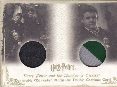 Harry Potter Memorable Moments Gregory Goyle double Costume Card