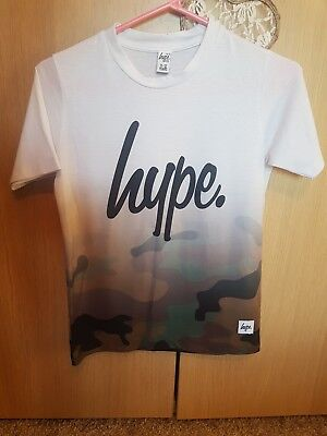 Hype t-shirt age 11-12 Army print