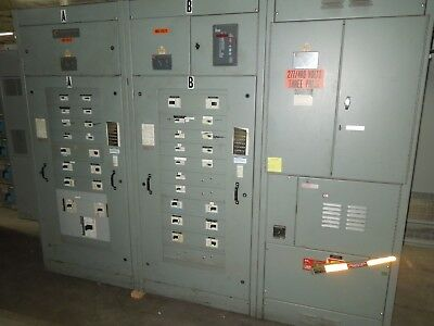 Chicago Switchboard 2400A 3ph 480Y/277V Fusible Main with Breaker Distribution