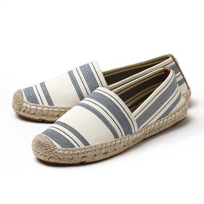 dde7f261082 TORY BURCH ESPADRILLE Size 7 37 Striped Navy -  80.00