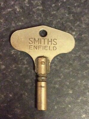 Vintage Smiths Endfield Carriage Clock Key, Size 5, 3.5mm.