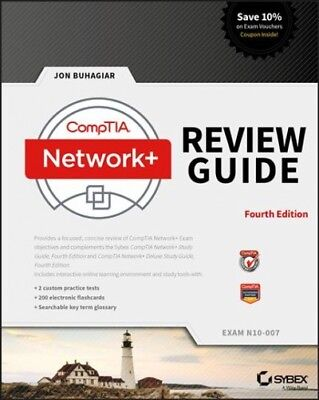 CompTIA Network+ Review Guide : Exam N10-007, Paperback by Buhagiar, Jon, ISB...