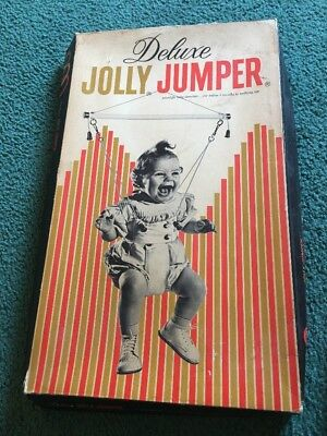 VIntage Jolly Jumper  Baby Deluxe Exerciser Antique Bouncer