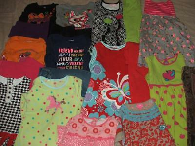 Huge Girls Fall Winter Clothing Lot Lot Size 4T 5T 4-5 Euc Boutique Outfits