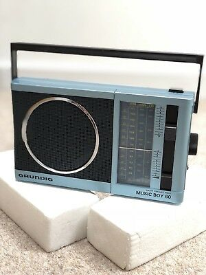 Vintage Grundig Music Boy 60 Portable Transistor AM FM Radio