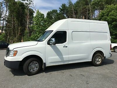 2012 Nissan NV SL 2012 NISSAN NV2500 HD SL HIGH TOP CARGO VAN IN GREAT CONDITION