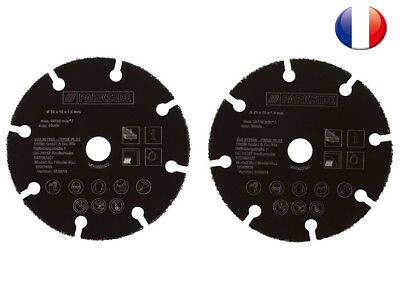 2x Disque carbure Multiconstruction ø76m BOSCH GWS 10,8/12V-76-ParksidePWSA12