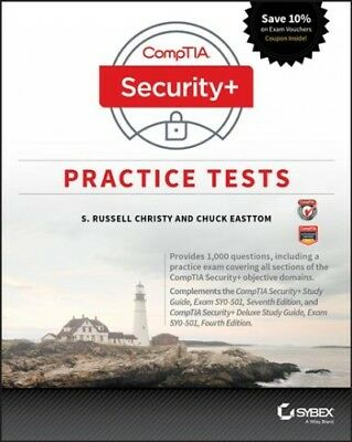 Comptia Security+ Practice Tests : Exam SY0-501, Paperback by Christy, S. Rus...