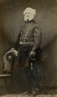 CDV: A British army officer named James Shaw c.1860