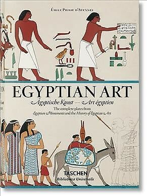 Egyptian Art / Agyptische Kunst / L'Art Egyptien : The Complete Plates from M...