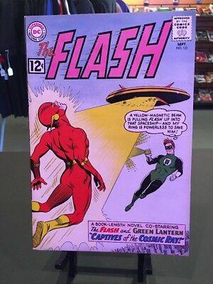 The Flash #131 8.5 Off White Pages