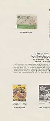 AUSTRALIA Collection 1979 Year of Child Christmas USED as per scan #