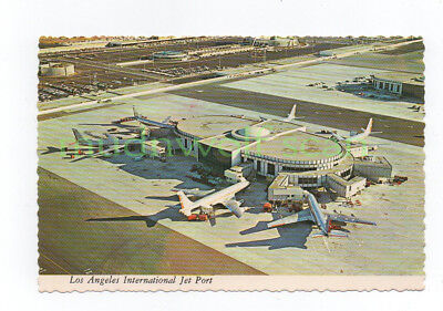 American Airlines Jets At Los Angeles International Airport Postcard