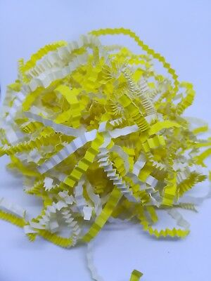 Crinkle Cut Paper Yellow / white Kraft shredded paper-Pet safe 250gr TOP QUALITY