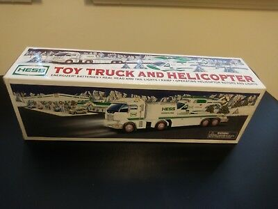 Hess Truck Toy Truck and Helicopter NIB!
