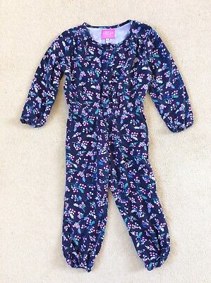 Joules Girls Floral Jumpsuit Age 2