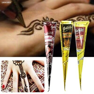 82DBCD2 Cosmetic For Party Wedding Body Art Temporary Instant Tattoo Cream Kit