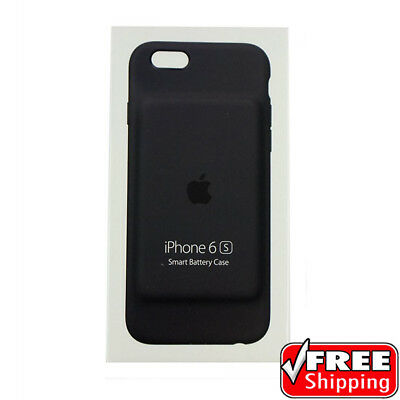 NEW Original Genuine Apple iPhone 6S Smart Battery Charging Case Grey MGQL2LL/A