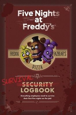 Five Nights at Freddy's Survival Logbook, Hardcover by Cawthon, Scott (CRT), ...