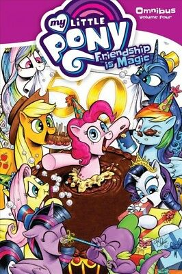 My Little Pony Omnibus 4 : Friendship Is Forever, Paperback by Rice, Christin...