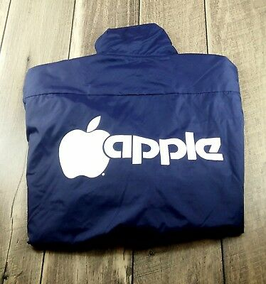 Logo 7 Super Bowl XIX XL Extra Large Apple Computers Nylon Jacket 1985 Stanford